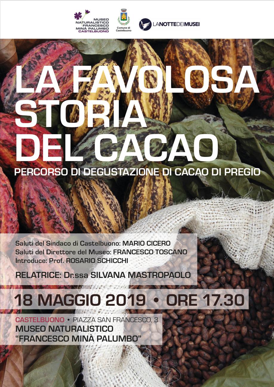 la favolosa storia del cacao